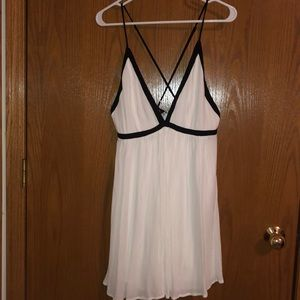 Lulus black and white dress